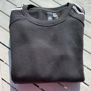 Women's Adidas Black Crewneck Sweater NWOT